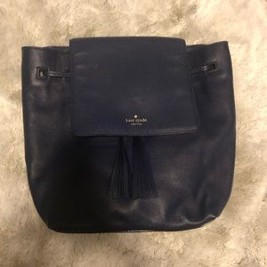 Kate Spade NY Grey Street Wilder Leather Backpack